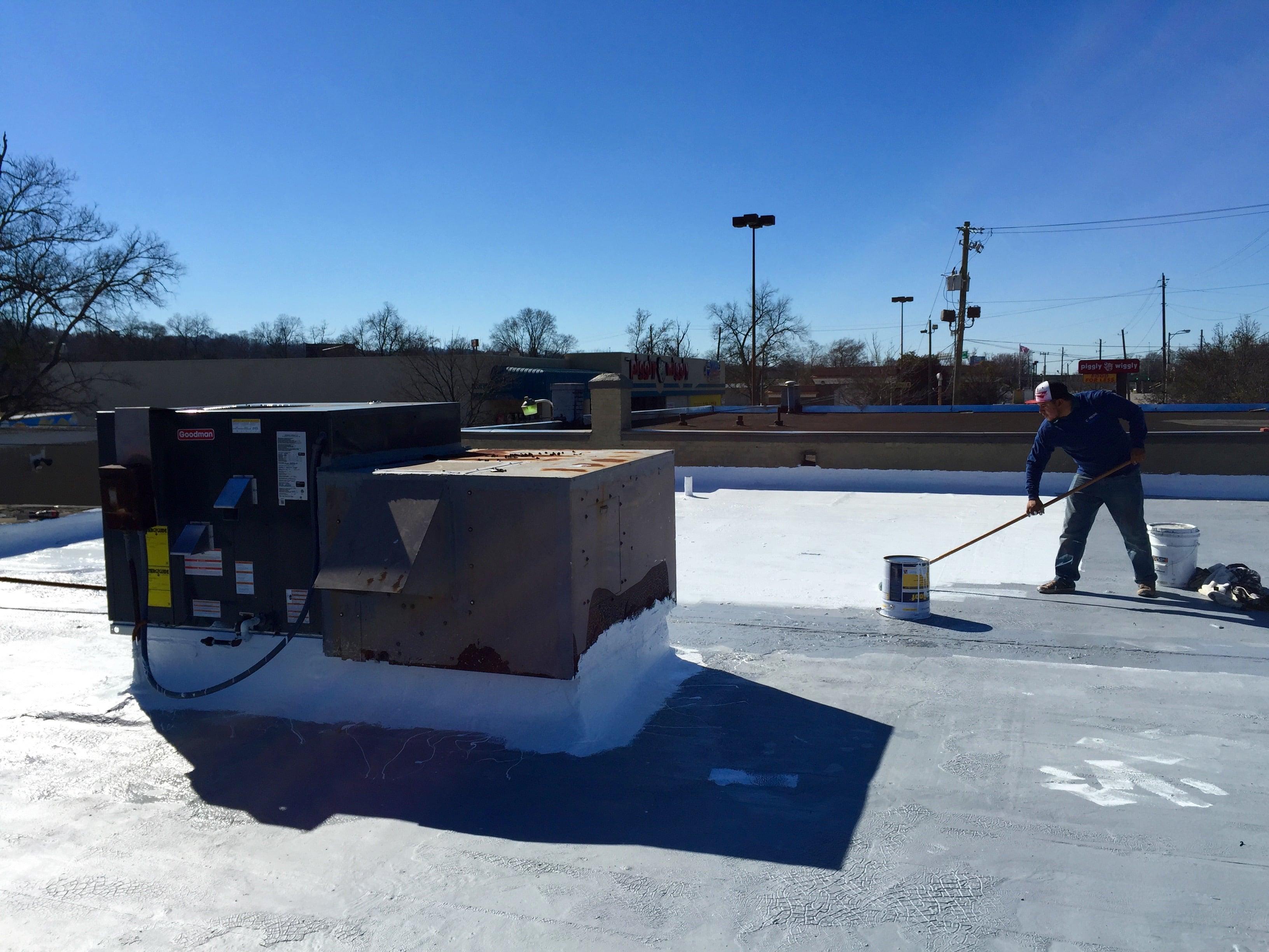 Roof Coatings Capstone Roofing